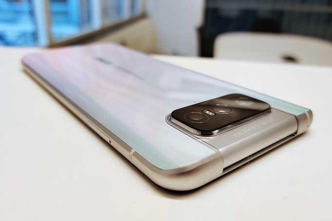 Zenfone 7 Pro baksida