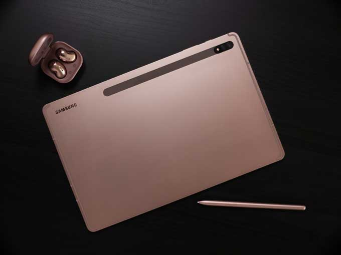 Galaxy Tab S7 Plus bronze