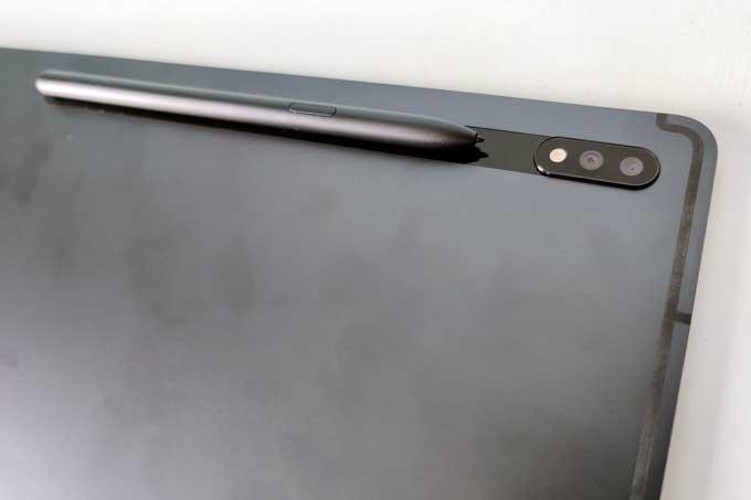 Galaxy Tab S7 Plus baksida