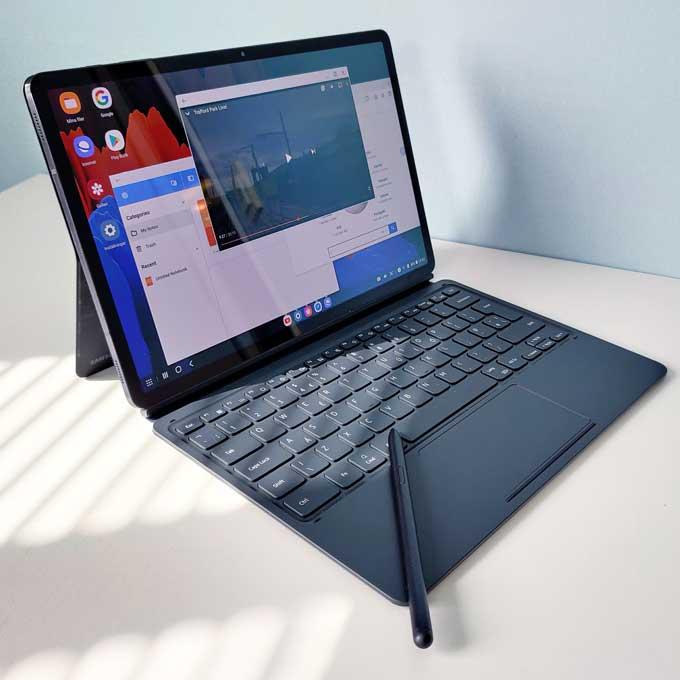 Galaxy Tab S7 Plus keybaird