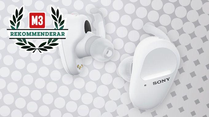Sony WF-SP800N träningshörlurar