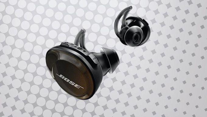 Bose Soundsport Free trådlösa hörlurar träning