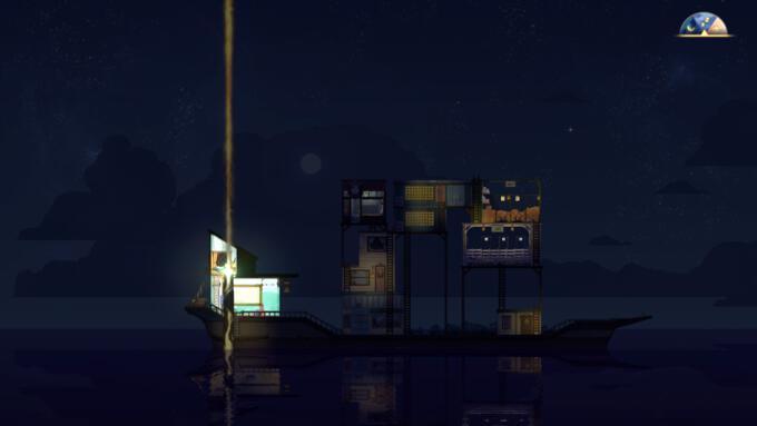 Båten på natten