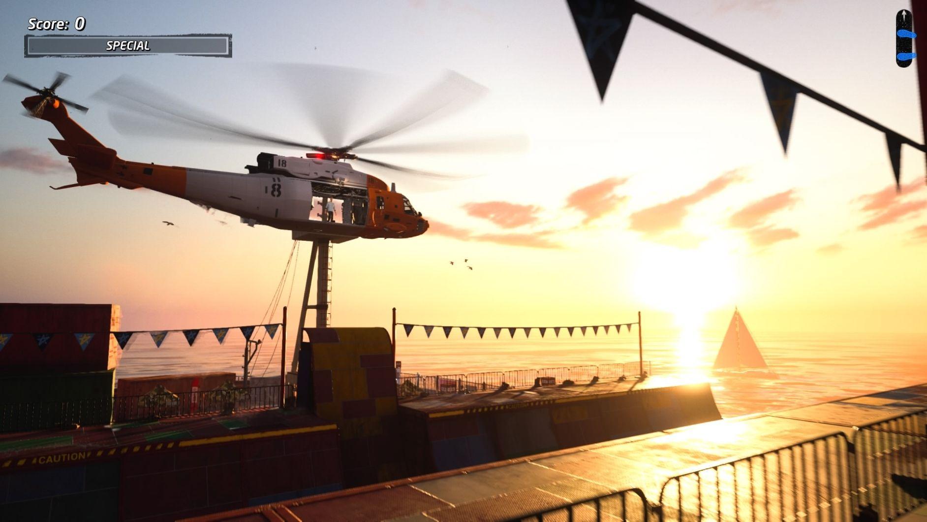 Tony Hawk Helikopter