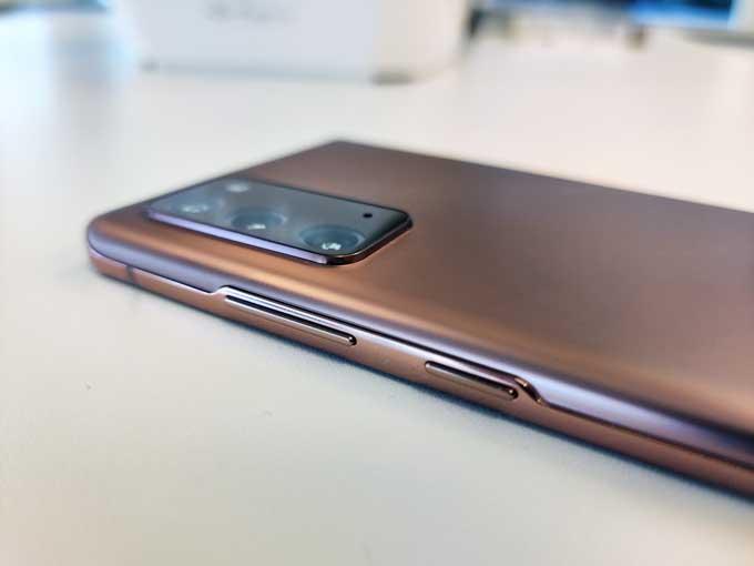 Galaxy Note 20 baksida