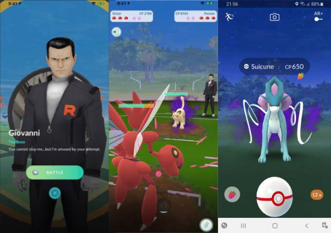 Team Go Rocket och Shadow Pokémon