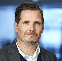Fredrik Hallstan, Head of B2B and Fixed Communications at Tele2