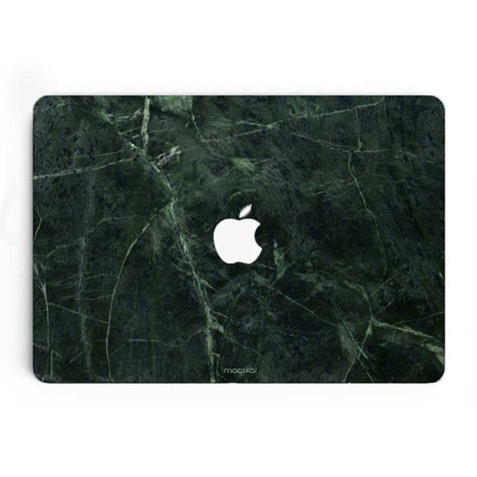 MacBook-skal i mörkgrönt mönster