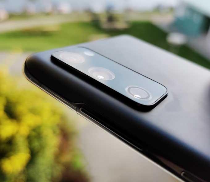 Samsung Galaxy S20 FE kameror