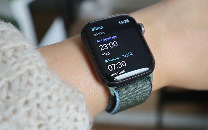 Apple Watch SE Sömntracking