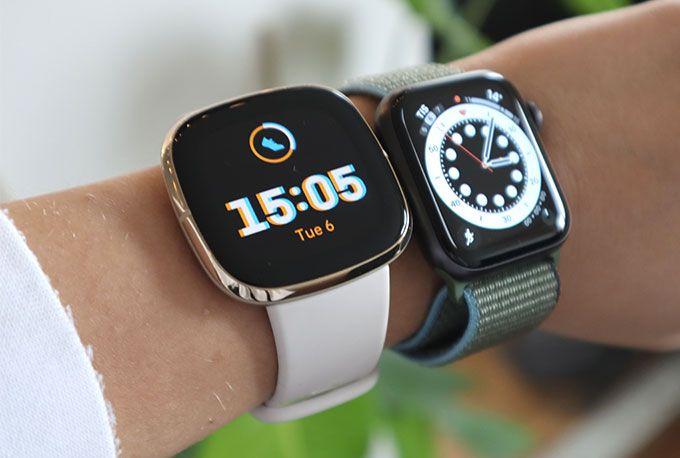 Fitbit Sense & Apple Watch SE