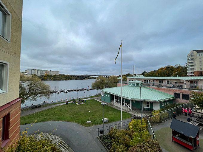 Foto utomhus med vidvinkelkameran i Iphone 12