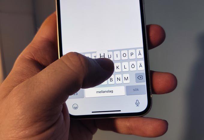 Iphone 12 Mini tangentbord
