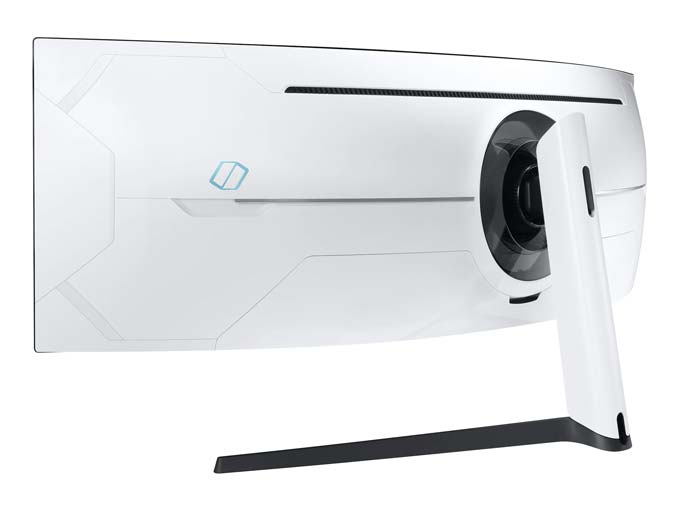 Samsung Odyssey G9 baksida
