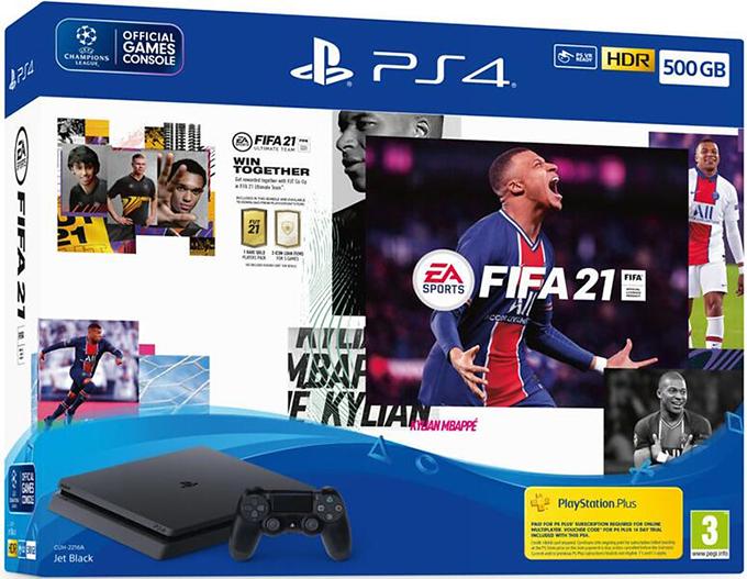 Playstation 4 and Fifa 21