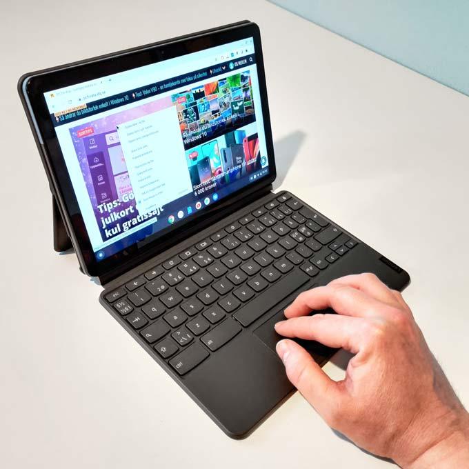 Ideapad Duet Chromebook skärm
