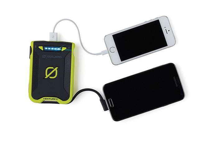 Power bank with solar energy