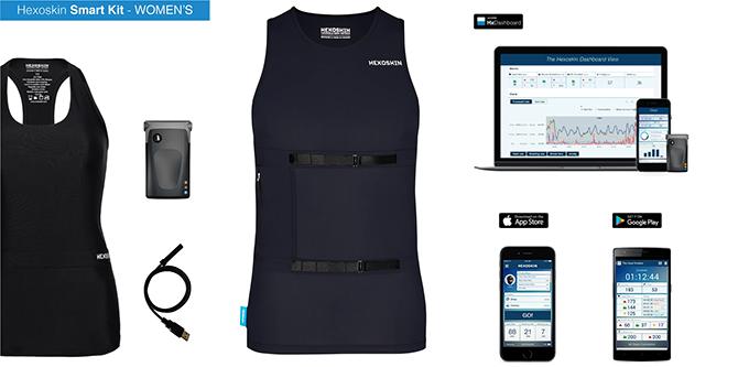 Hexoskin training vest