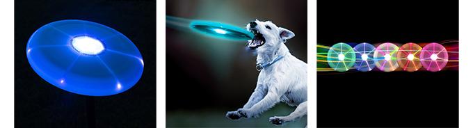 LED-lit frisbee