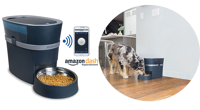 Smart automatic feeder for animals