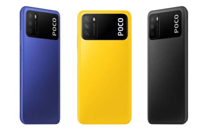 Poco M3 färger
