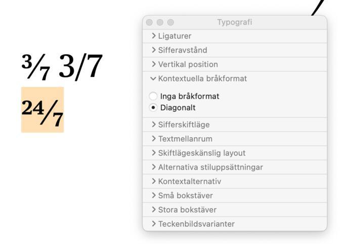 Typografi – så här fixar du snyggare typsnitt på Macen
