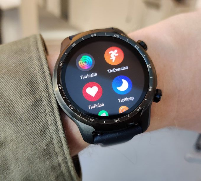 Mobvoi Ticwatch 3 Pro appar