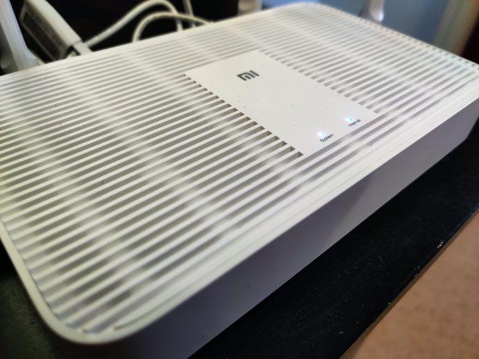 Xiaomi Mi Router AX1800 dioder