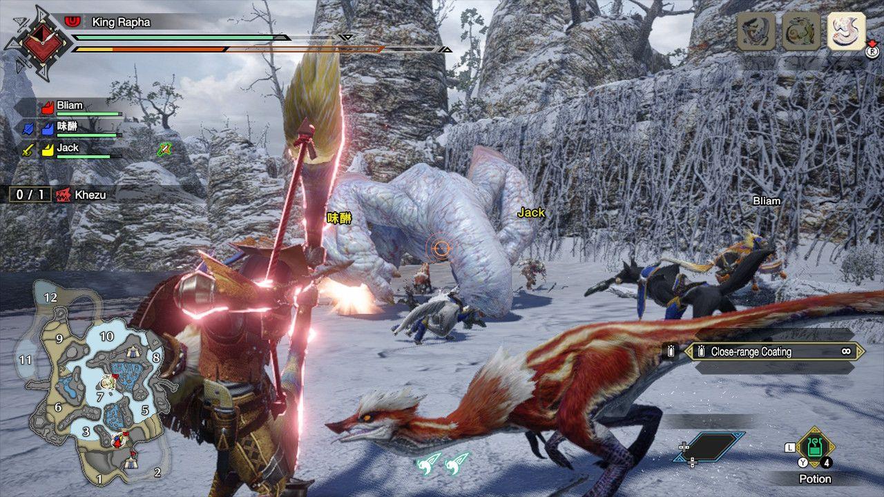 Monster hunter rise multiplayer
