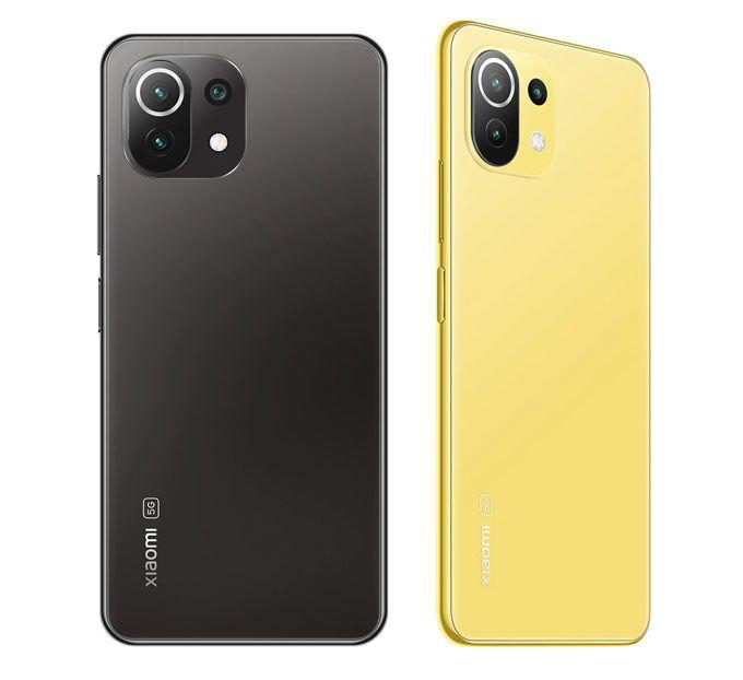 Xiaomi Mi 11 Lite 5G färger