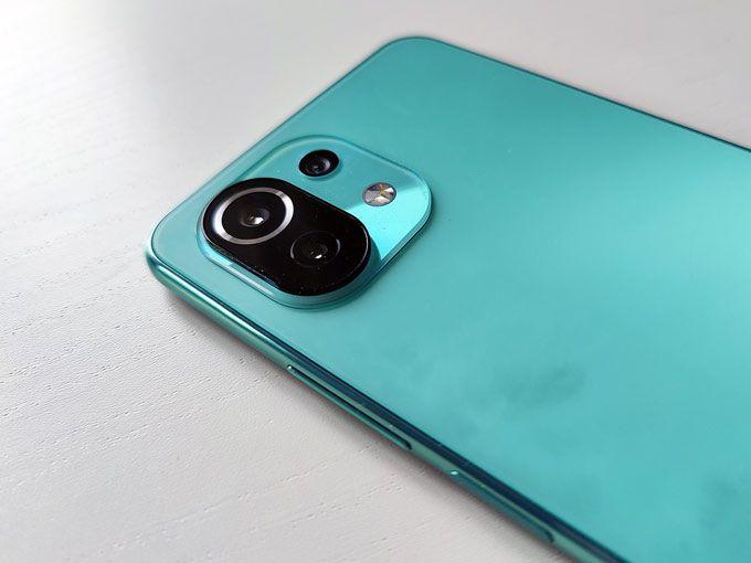 Xiaomi Mi 11 Lite 5G kameror