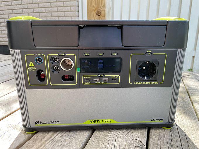 Test Yeti 1500X