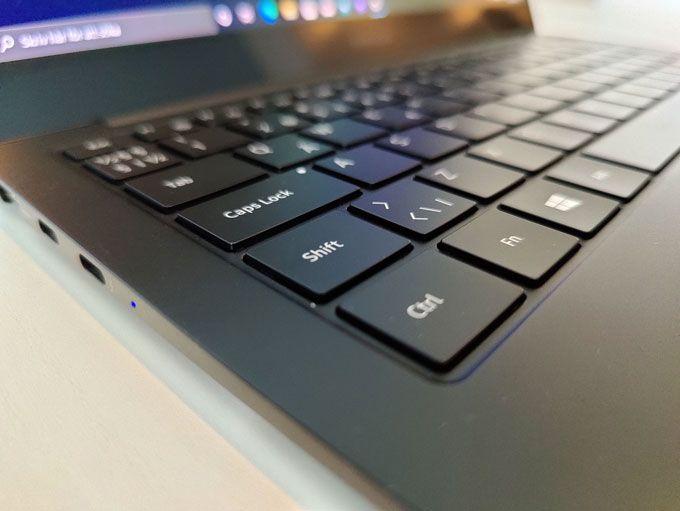 Galaxy Book Pro tangentbord