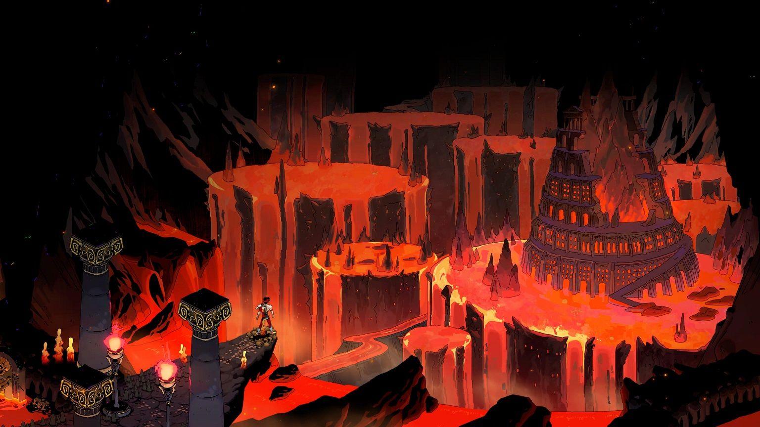 Hades utsikt över underjorden