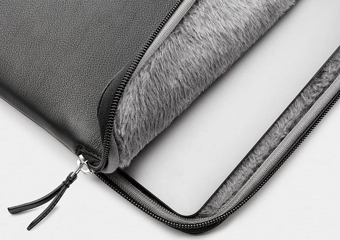 "Trunk Leather Sleeve MacBook 13"""