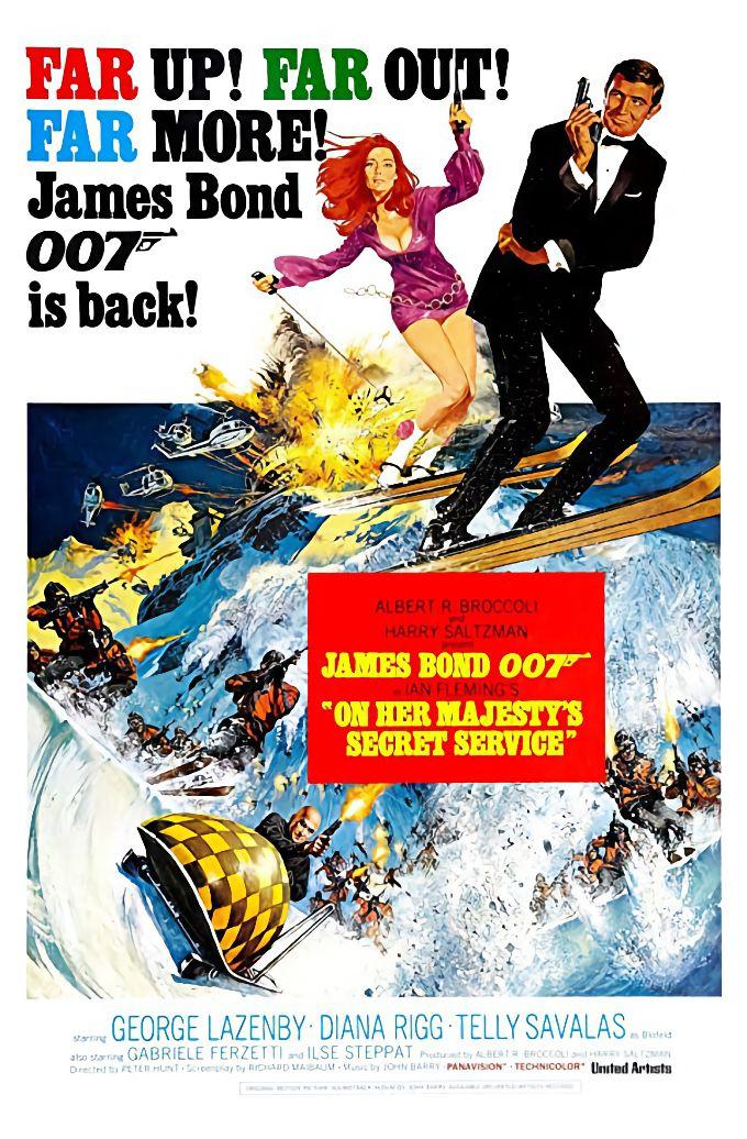 Streama James Bond