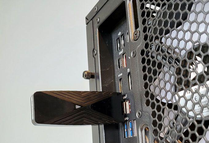 D-link DWA-X1850 i dator