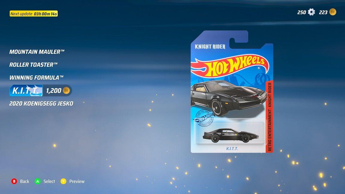 Tuff bil i leksaksförpackning