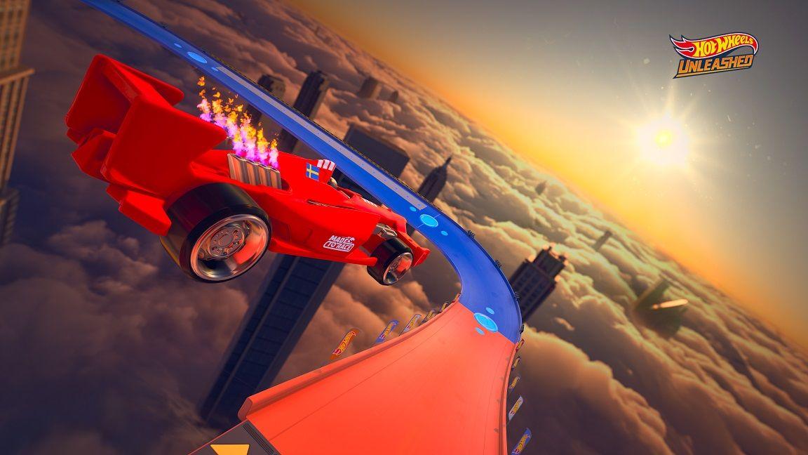 F1 i luften Hot Wheels Unleashed
