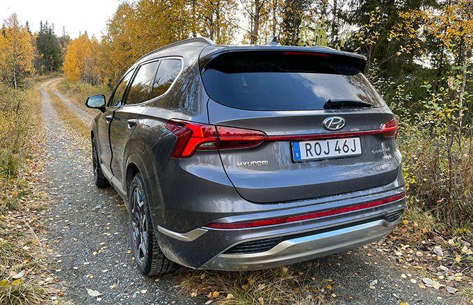 Test Hyundai Santa Fe phev 2021