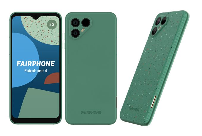 Fairphone 4 grön