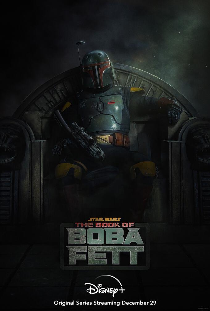 Book of Boba Fett-affisch