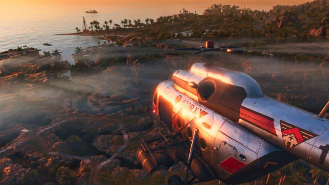 far cry 6 helikopter