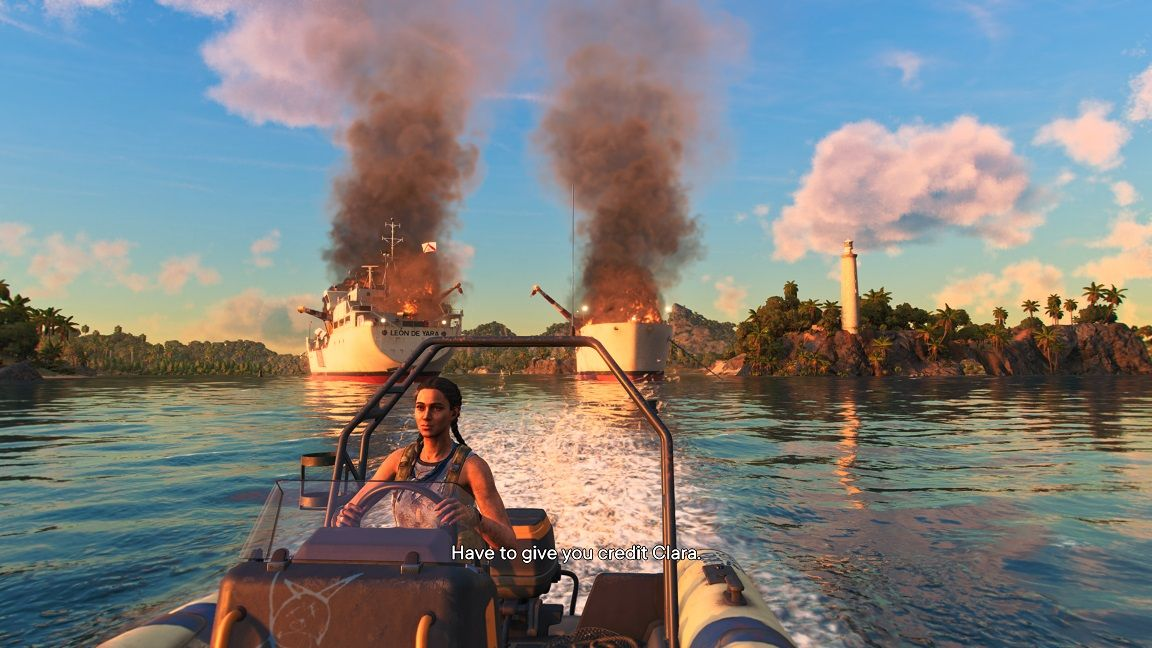 Far cry 6 spränga båtar