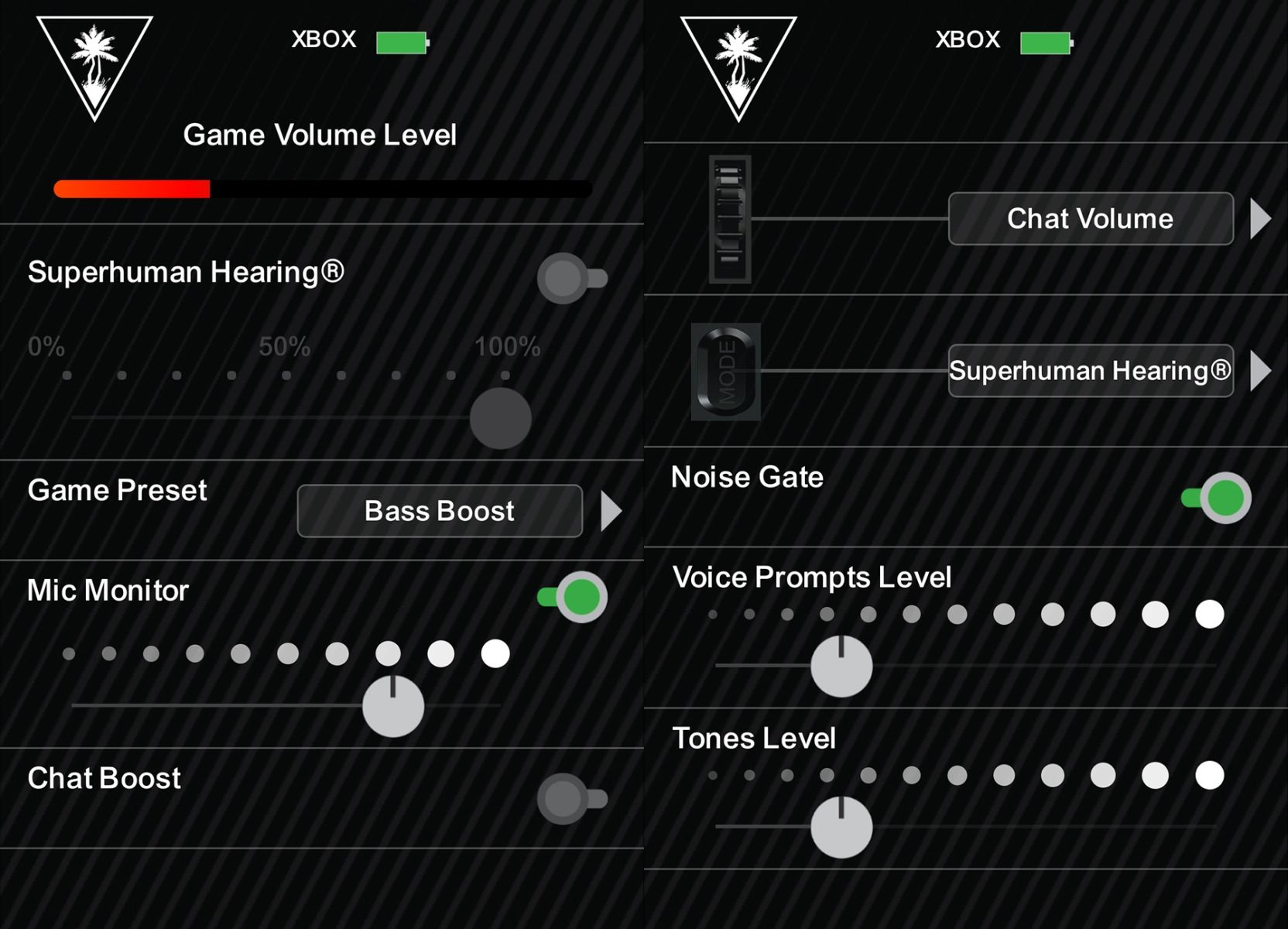 Inställningar Audio Hub