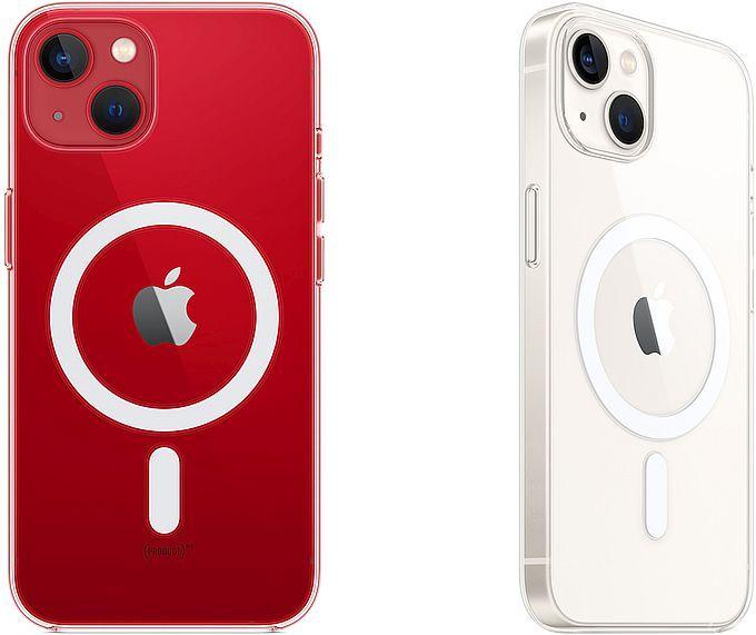 Apple Transparent skal med MagSafe till iPhone 13