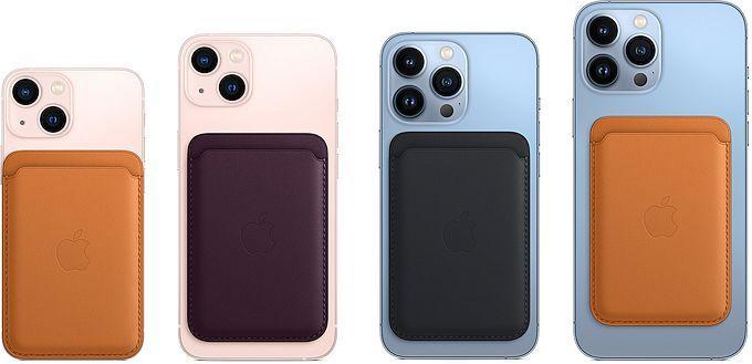 iPhone-plånbok i läder med MagSafe