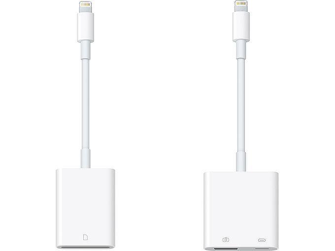 Apple Lightning till usb eller sd-kamerakortläsare
