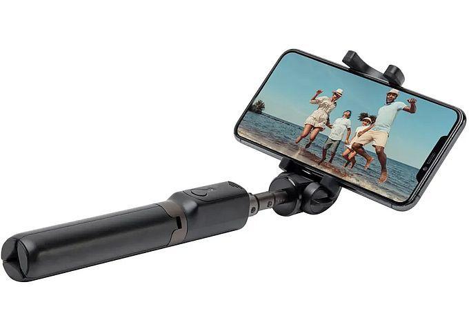Linocell Selfie-stick med stativ och Bluetooth-avtryckare