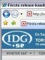 61dd6f9c5861 Den nya versionen av Internet Explorer har funnits ute i betaversion ett  bra tag nu och alla betatestare av Windows Vista är givetvis väl förtrogen  med ...